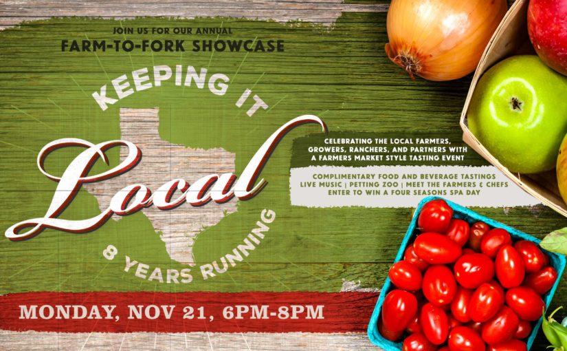 8th Annual Farm to Fork Showcase