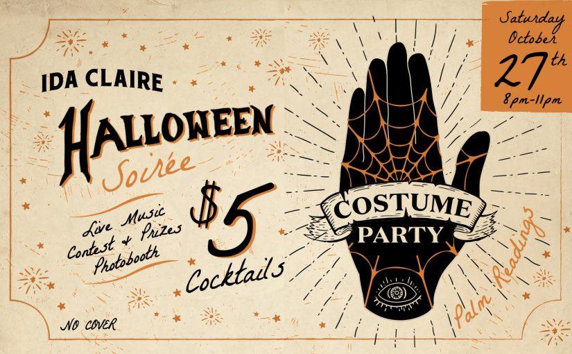 Halloween Soireé – Saturday, October 27th