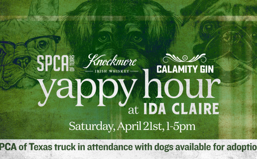 Yappy Hour with SPCA of Texas!