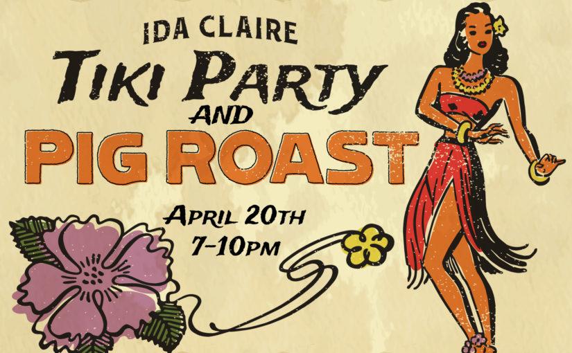 Tiki Party and Pig Roast