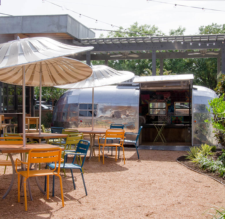 The outdoor garden & Home - Fine Southern Cuisine - Ida Claire